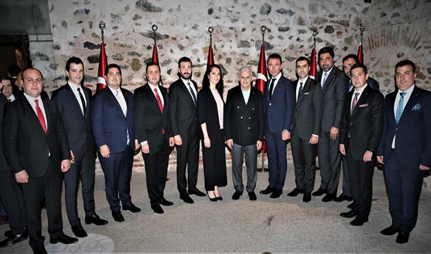 TÜGİK Yönetim Kurulu, Başbakan Yıldırım'ın İftar Davetine Katıldı