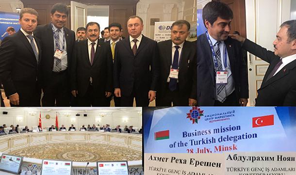 Belarus resmi ziyaretine katılım