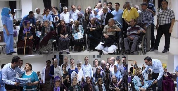 Kadoil'den Çubuk Abidin Yılmaz Huzurevi sakinlerine ziyaret