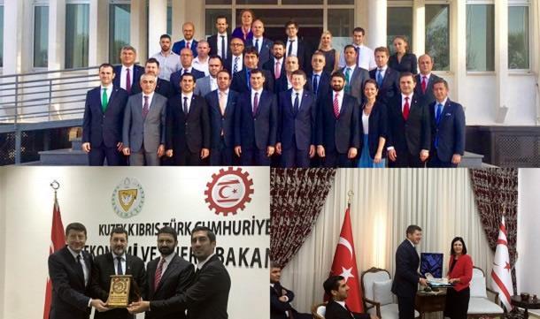 TÜGİK Kıbrıs Çalıştayı ve protokol ziyaretleri gerçekleştirildi.