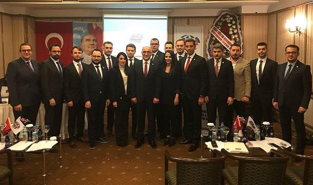 Bursa GESİAD'da Kerim Demiral dönemi.