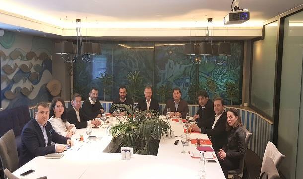 TÜGİK Yönetim Kurulu Toplantısı Ankara'da gerçekleştirildi.