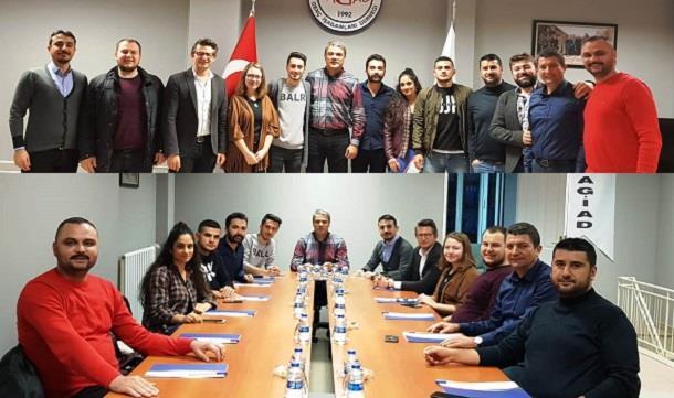 BAGİAD, Balıkesir Üniversitesi İİBF Borsa ve Yatırımlar Topluluğu öğrencileri ile.