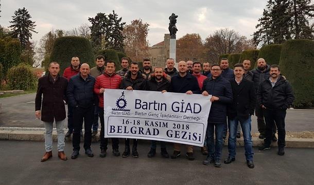 Bartın GİAD Sırbistan Belgrad yurtdışı gezisi düzenledi.