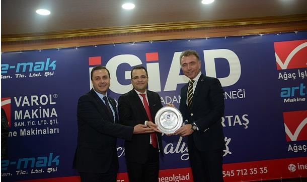 Prof. Dr. Özgür Demirtaş, İnegöl iş dünyası ile buluştu