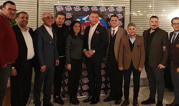 Erkan Güral Bursa'da GESİAD üyeleriyle bir araya geldi..