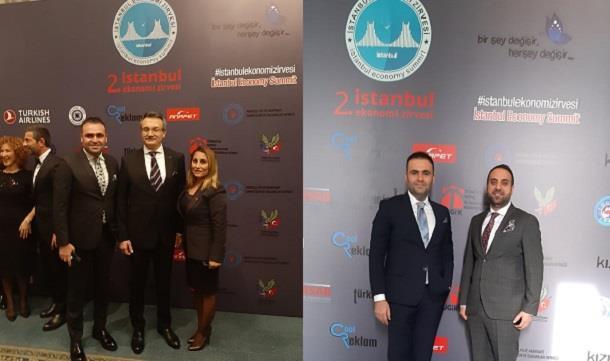 İstanbul Ekonomi Zirvesi Çırağan Sarayında gerçekleştirildi.