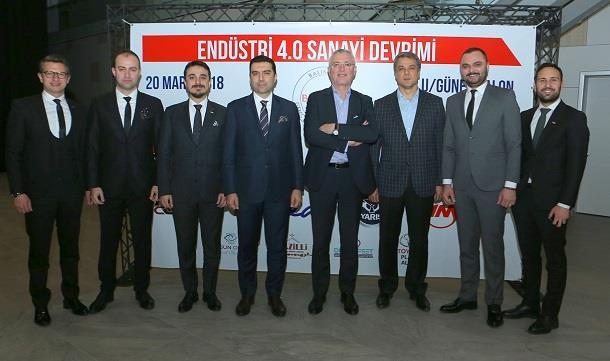 Bagiad'da  Endüstri 4-0 Sanayi Devrimi  toplantısı.