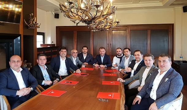 TÜGİK Mart ayı Yönetim Kurulu Toplantısı Antalya'da gerçekleştirildi.