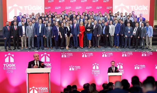 TÜGİK 2018 İş Zirvesi buluşması Antalya'da gerçekleşti.