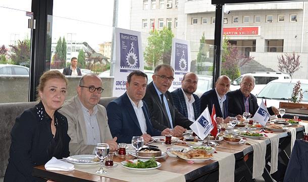 Elbirliği, Güçbirliği Kahvaltı Konuğu TSO Başkanı ve Yönetimi.