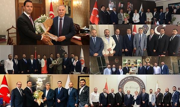 HAGİAD Yeni Yönetim Kurulu protokol ziyaretleri