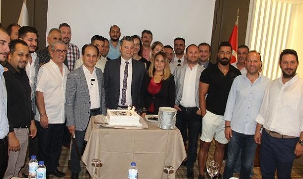 MAGİAD'ın yeni başkanı Ali Toksoy oldu