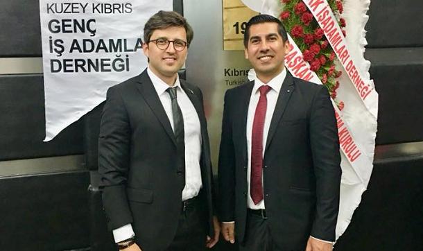 Uğur Ergün, Kıbrıs GİAD'ın yeni başkanı