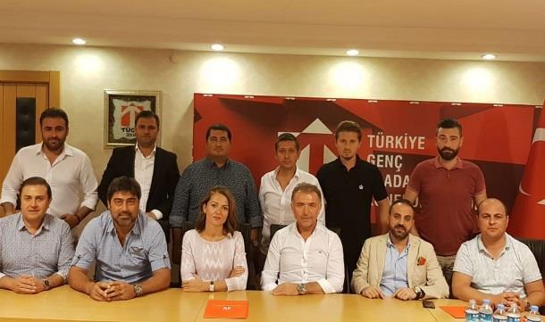 TÜGİK Yönetim Kurulu Ankara'da Toplandı.