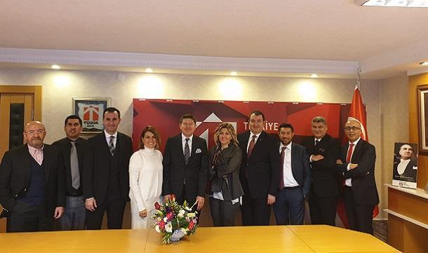 TÜGİK Yüksek İstişare Konseyi 8. Dönem ilk toplantısı Ankara'da gerçekleştirildi..