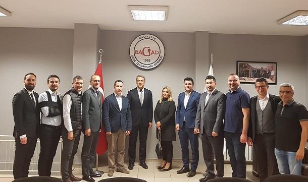 Balıkesir Üniversitesi Teknokent Yönetiminden BAGİAD'a ziyaret.