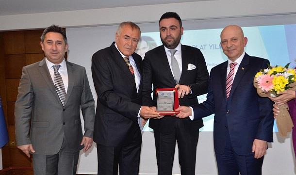 Tanzer Polat Yılmaz'a Eğitime Destek Ödülü