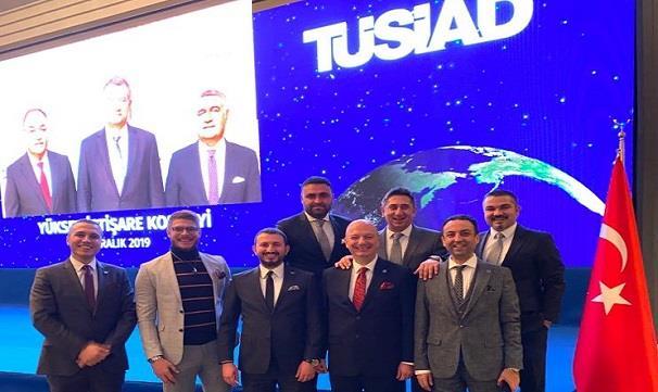 TÜSİAD Geleneksel Yüksek İstişare Konseyi Ankara Kokteyline katılım..