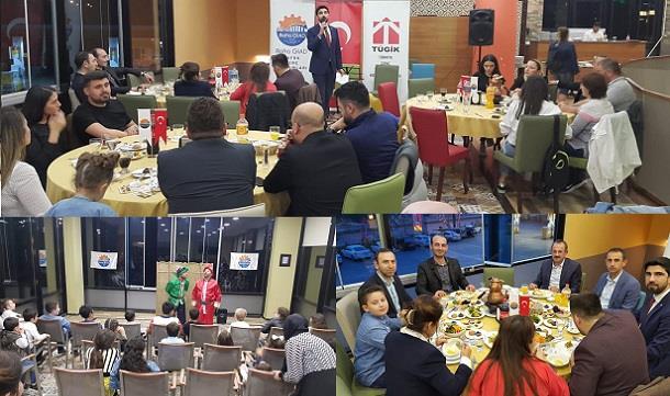 Bafra GİAD Üyeleri Ramazan Ayı İftar Programında Bir araya geldi;