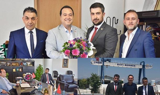 MAGİAD´dan Akhisar GİAD Başkanı ve Belediye Başkanı Dutlulu´ya Ziyaret.