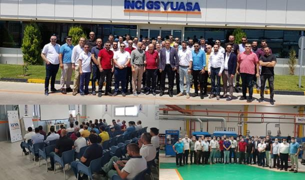 BAGİAD; Manisa İnci GS Yuasa Akü fabrika gezisi