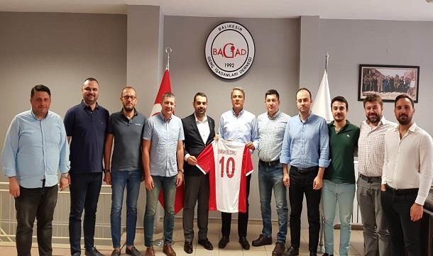 Balıkesirspor Yönetimin'den BAGİAD'a Ziyaret
