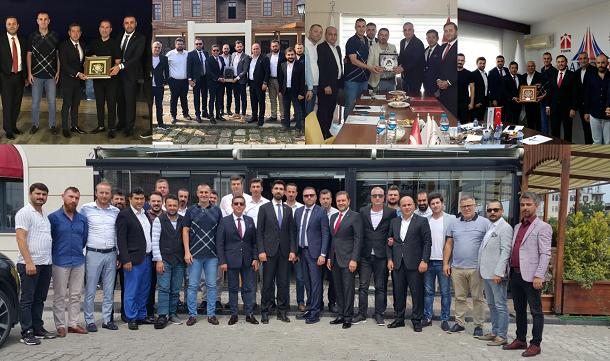 TÜGİK, KARGİF Dernek başkanları ve üyeleri ile buluştu.
