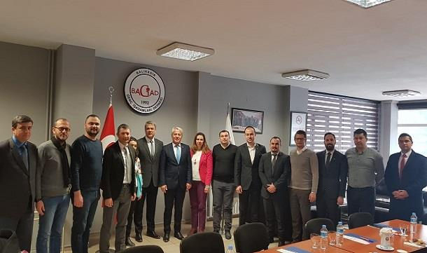 Susurluk Belediye Başkanı Nurettin Güneyden BAGİAD'a ziyaret.