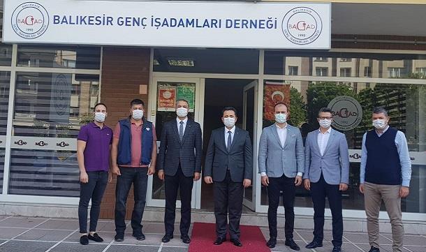 Balıkesir İl Emniyet Müdürü Hasan ONAR BAGİAD'ı Ziyaret Etti.