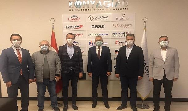 Başsavcı Solmaz'dan Konya GİAD'a Ziyaret.