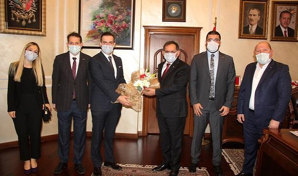 SAMGİAD' dan Başkan Demir'e ziyaret.