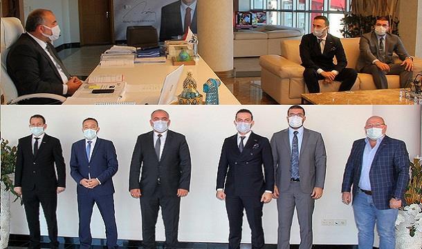Samgiad' tan Başkan Sandıkçı'ya Ziyaret.