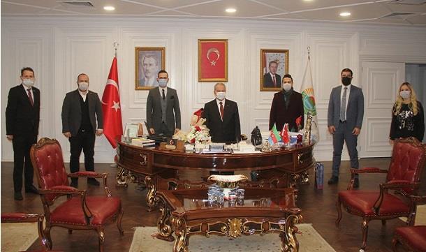 Samgiad'dan Başkan Demirtaş'a ziyaret.