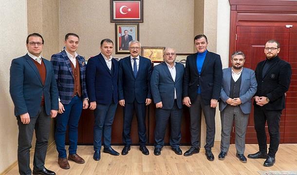 İş İnsanları Konya Cumhuriyet Başsavcısı Ramazan Solmaz'ı ziyaret etti