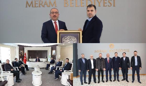 Konya Giad, Başkan Kavuş'u ziyaret etti