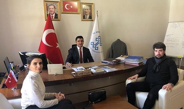 MAGİAD'dan , Manisa İl Kültür ve Turizm Müdürü İbrahim Sudak'a ziyaret