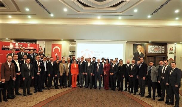 TÜGİK Başkanlar Kurulu Toplantısı Sapanca'da gerçekleştirildi.