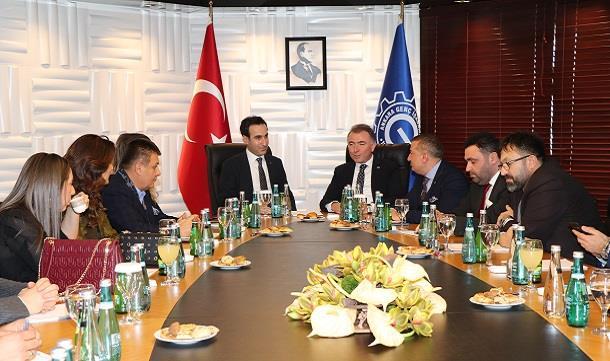 TÜGİK'den Ankara Genç İş Adamları Derneği'ne ziyaret.