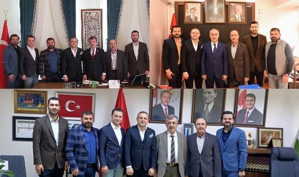 Yenişehir Giad'dan protokol ziyaretleri