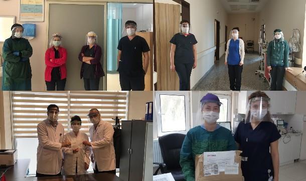 Samgiad'dan sağlık çalışanlarına destek.