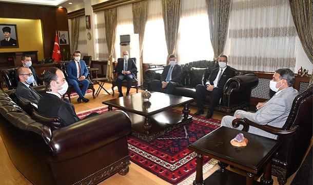 BAGİAD'dan Balıkesir Valisi Sayın Hasan ŞILDAK'a ziyaret.