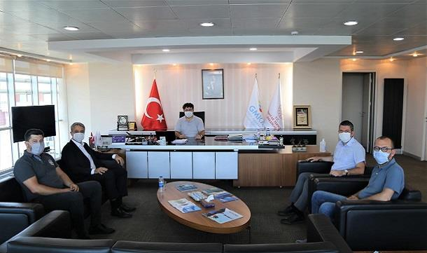 BAGİAD'dan, GMKA Genel Sekreteri Sn. Hasan İSKENDER'e Ziyaret.