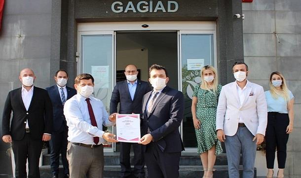 GAGİAD, Türkiye'de TSE Güvenli Hizmet Belgesini alan ilk dernek oldu.