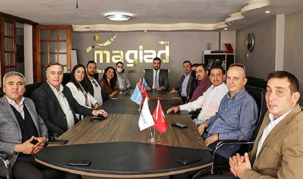 Muradiye OSB Yönetiminden MAGİAD'a ziyaret..