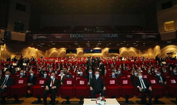 TÜGİK Ekonomi Reformları Tanıtım Toplantısı'na katıldı