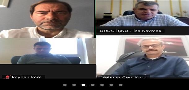 İŞKUR'dan Fatsa GİAD üyelerine bilgilendirme toplantısı