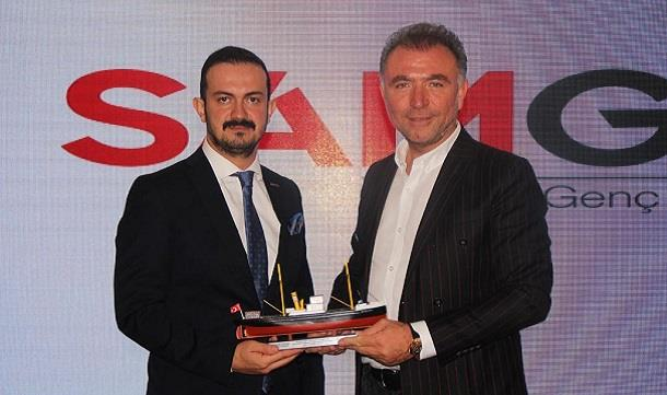 TÜGİK Başkanı Erkan Güral Samsun'da.