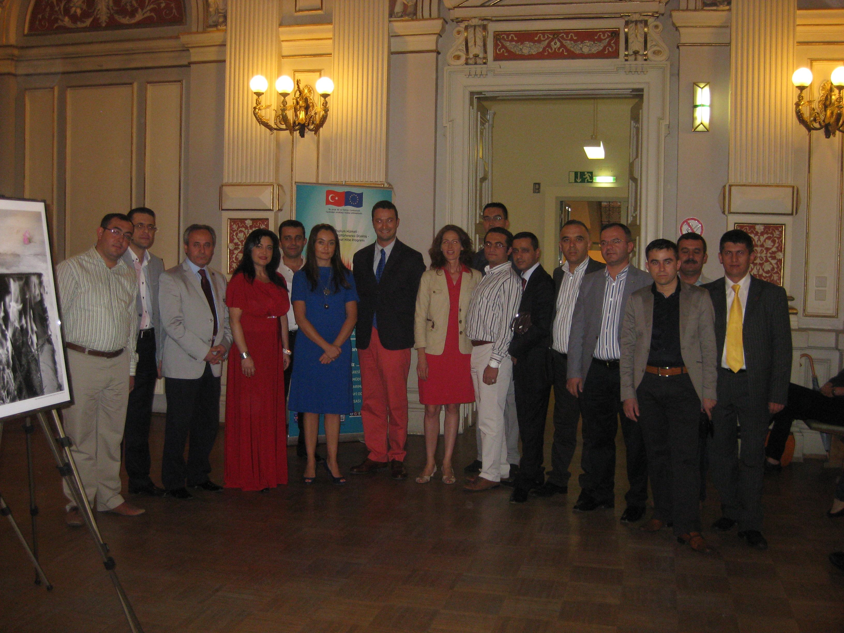 Isparta GİAD, AB Projesini Avusturya'da Tanıttı.