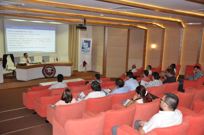 İnegöl GİAD Mobilyacılara yönelik URGE hibe projesinin ilk toplantısını gerçekleştirdi.